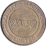 10 Pence - Maygay Machines (Brass) – obverse