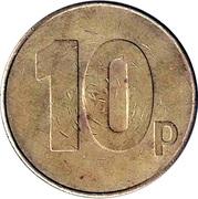 10 Pence - Maygay Machines (Brass) – reverse
