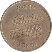Token - Family Leisure Funland – reverse