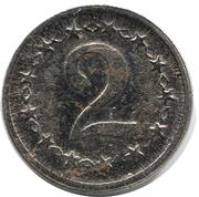 2 Pfennig (Bird) – reverse