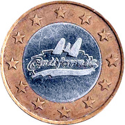 1000 Spiel Marke - California (Game Token) – obverse