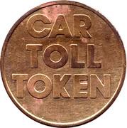 Car Toll Token - East-Link – reverse