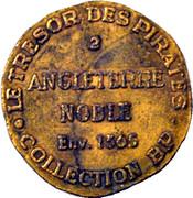 Token - Collection BP - Le Trésor des pirates (№2 - Angleterre Noble 1365) – reverse
