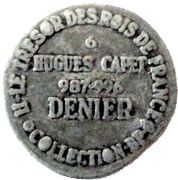 Token Collection BP - Le Trésor des Rois de France (№6 - Denier Hugues Capet) – reverse