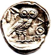 Token Collection BP - Le Trésor des Monnaies Antiques (№III - Athenes Tetradrachme) – obverse