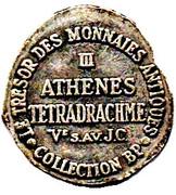 Token Collection BP - Le Trésor des Monnaies Antiques (№III - Athenes Tetradrachme) – reverse