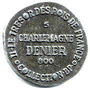 Token Collection BP - Le Trésor des Rois de France (№5 - Denier Charlemagne) – reverse