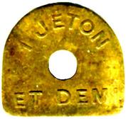 1,5 Jeton L'indépendante Lille [59] – reverse