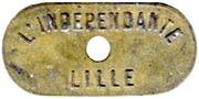 10 Bénéfice L'indépendante Lille [59] – obverse