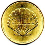 Shell Token - Man In Flight (Charles Lindbergh) – reverse
