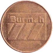 Token - Burmah – obverse