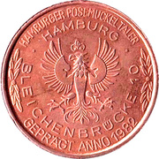 2 Posemuckel-Taler (bronze) – reverse