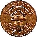 1 Fare - Erie Metropolitan Transit Authority (Erie, PA.) – reverse