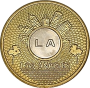 1 Base Fare - Los Angeles Transit Authority – obverse