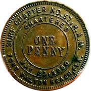 1 Penny - Chapter 57 (Fort Walton, FLA.) – obverse