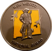 New Mexico National Guard – obverse