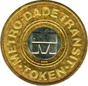 Metro Token - Metro-Dade Transit (Miami, Florida) – reverse