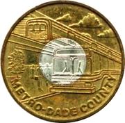 Metro Token - Metro-Dade Transit (Miami, Florida) – obverse