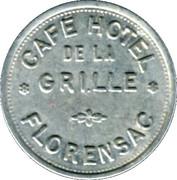 10 Centimes - Café Hotel de la Grille  - Florensac [34] – obverse