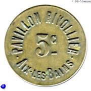 5 Centimes - Pavillon Rivollier - Aix-les-Bains [73] – obverse