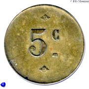 5 Centimes - Pavillon Rivollier - Aix-les-Bains [73] – reverse