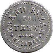 5 Centimes - Grand Bazar du Tarn - Mazamet – obverse