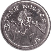 Token - 15 Great All Black Captains (Tane Norton) – obverse