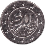 50 Nutella Cents (Falbala) – reverse