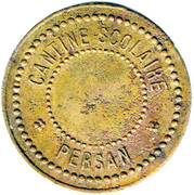 20 Centimes Cantine Scolaire Persan – obverse