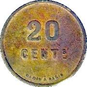 20 Centimes - La Bourguignonne  - Dijon [21] – reverse