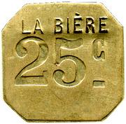 25 Centimes - La Bière - Paris [75] – obverse