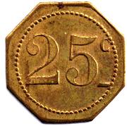 25 Centimes (Grand Café Moderne; Nîmes) – reverse