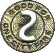 1 Fare - Syracuse Transit Corporation – reverse