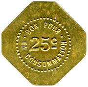 25 Centimes Café Miramand - Le Puy [] – reverse