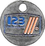 Shopping Cart Token - 1,2,3 Auto Service – obverse