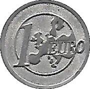 Shopping Cart Token - Dexis (1 Euro) -  reverse