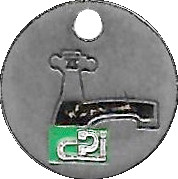 Shopping Cart Token - CPI – obverse