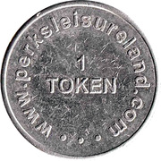 Game Token - Perks Leisureland – obverse