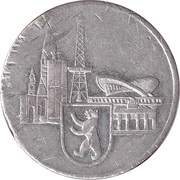 Token - Berlin (Internationale Funkausstellung) – reverse