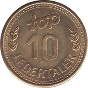 10 Ledertaler - Top – obverse