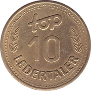 10 Ledertaler - Top – reverse