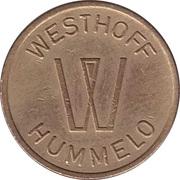 Token - Westhoff Hummelo – obverse