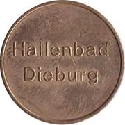 Public Swimming Pool Token - Dieburg – obverse