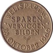Token - Sparkasse Weltspartag 1966 (Hannover) – reverse