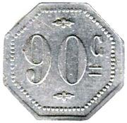 90 Centimes (The Golden Pig; Paris) – reverse