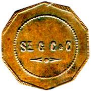 1 Franc - St Gobain, Chauny & Cirey - Sain-Bel [69] – obverse