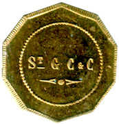 50 Centimes - St Gobain, Chauny & Cirey - Sain-Bel [69] – obverse