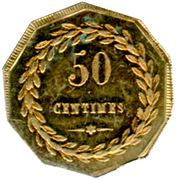 50 Centimes - St Gobain, Chauny & Cirey - Sain-Bel [69] – reverse
