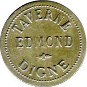 1 Franc Taverne Edmond - Digne [04] – obverse