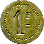 1 Franc Taverne Edmond - Digne [04] – reverse